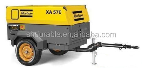 XAS57Dd Atlas Copco kompresor mesin diesel with Deutz diesel engine (3m3/min 7bar)