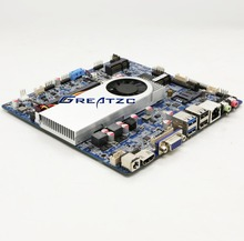 Core i3 6100u Low Power Industrial Motherboard With 2 COM Ports,LVGS HD MI VGA Display Mini ITX ZC-T6100SL-D4
