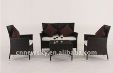 Outdoor rattan furniture 2012 new design KD sofa set