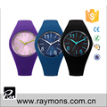 silicone wristband customized design logo 4.0 cm silicon watches for own print
