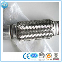 Hot sale stainless steel 201/304/316 flexible exhaust pipe for car/truck/motorcycle