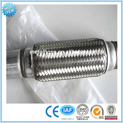 best price stainless steel exhaust muffler/corrugated pipe for exhaust/industrial silencer