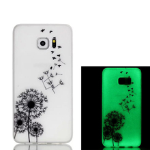 Mobile phones and accessories printed Glow in dark Transparent cover back case for samsung X3