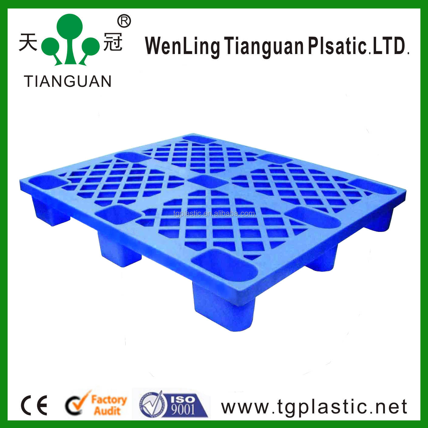 single-face plastic pallet