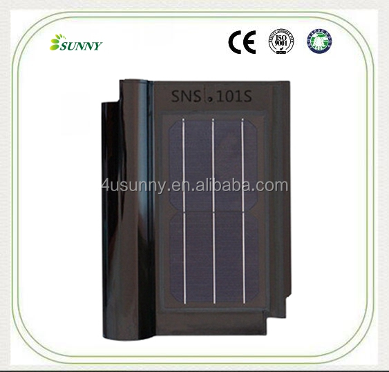 Solar Roof Tiles Chinese Made Ceramic Clay Solar Roof Tiles Price
