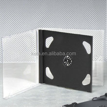 Standard 10.4MM Double PS Jewel CD Case With Black Tray