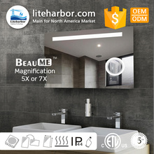 2018 hot-sale Liteharbor Customized Hotel or Salon or project IP44 waterproof led bath mirror light