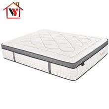 Home Furniture Natural Latex Vintage Quality Individual Pocket Spring Mattress