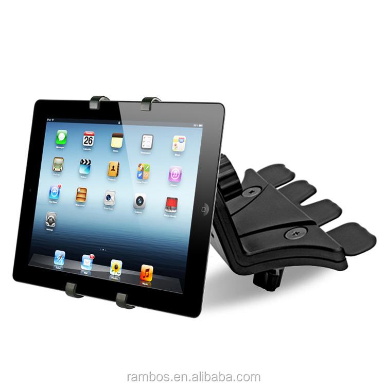 7 11 auto cd slot cellulaire mont t l phone support voiture porte tablette pour ipad pour. Black Bedroom Furniture Sets. Home Design Ideas