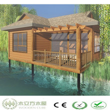 WPC low cost prefabricated wood houses
