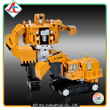 Educational kids collection toys Deformable Alloy Car diy robot toy