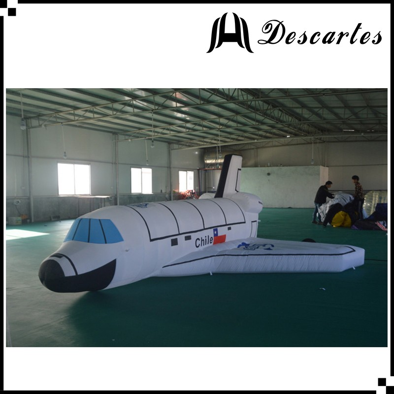 Egypt L:6m inflatable advertising aircraft/large inflatable airplane for trade show