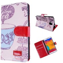 Hot Sell!Retro Flip Leather Case for Sumsung S3 S4,Note2,Note3