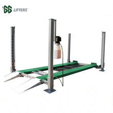 2.2 Kw Motor 3.2 T Four Post Double Parking Car Lift With Factory Price