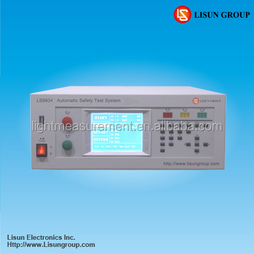 LS9934 5kv hipot test and earth testing meter for electrical safety test meet UL standard requirements