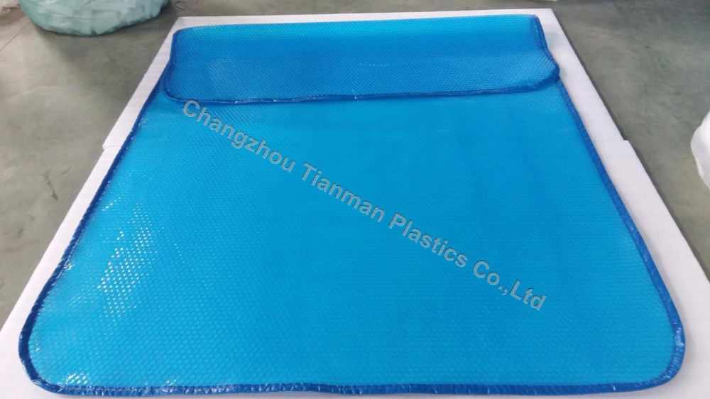 The attractive summer and winter polyethylene thermal pool cover