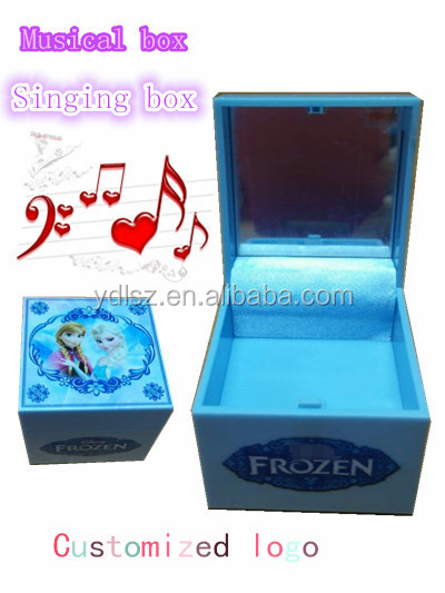 ShenZhen wedding gift music box/wedding door gift box