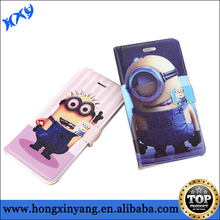 Despicable Me Minion Leather Flip Case for iPhone 6/6 plus