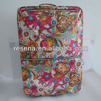 Printing Flowers Trolley Cases Luggage Trolley Flowers