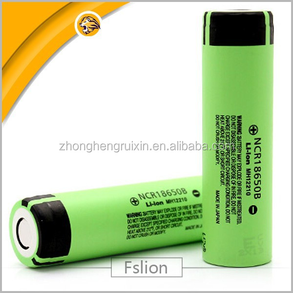 original Japan made NCR18650B 3400mah 3.7v Cylinder Lithium Ion Battery rechargeable Ncr18650 Lithium Battery