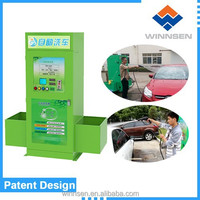 Coin automatic car washing machine/ self service car wash station with vacuum cleaner /tire pump WCW-A10