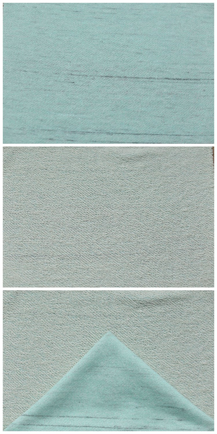 Bulk Buy From China Textile Material Fabric Polished Polyester Cotton Terry Fabric