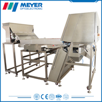 stainless steel dried fruit / nuts / walnut color sorting machine with 2038 CCD sensor
