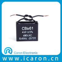 AC Motor Start 4mf 450v cbb61 300vac fan capacitor