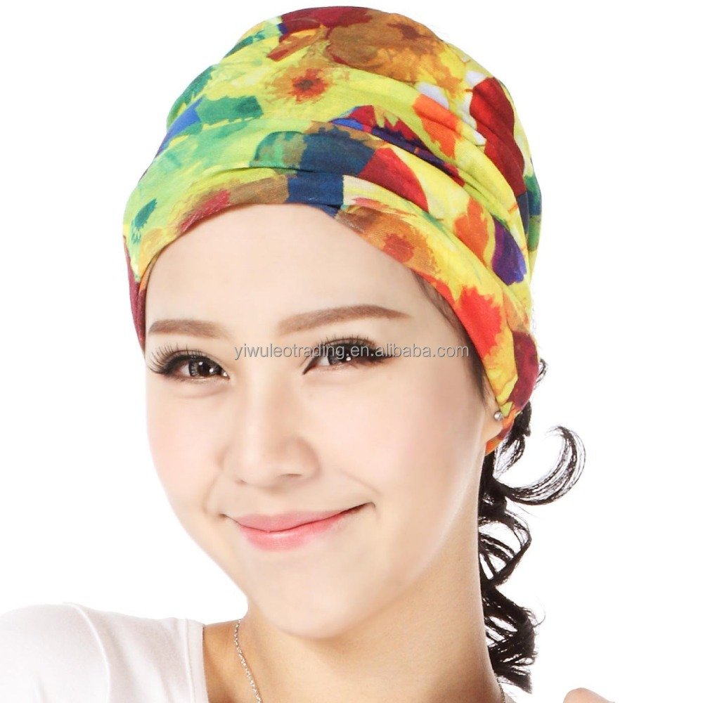 Promotion bandana headwear stock tubular yoga bandana