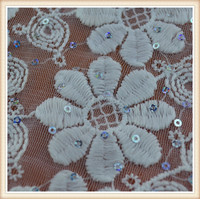 ON SLAES!!! Elegant embroidery sequin beaded bridal african lace fabrics for wedding dresses
