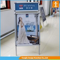 Adjustable poster display, snap A frame from Tongjie