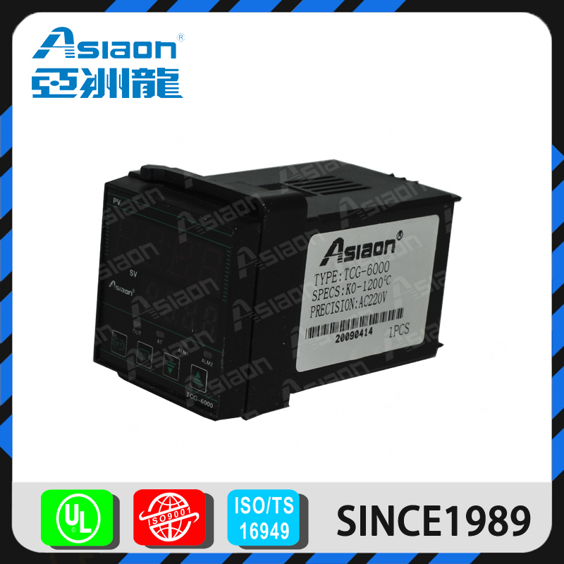ASIAON CE Approved Multifuction Led Displayed Intelligent Temperature Controller