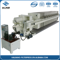 oil automic filter press machine / waste treatment system HJFP012