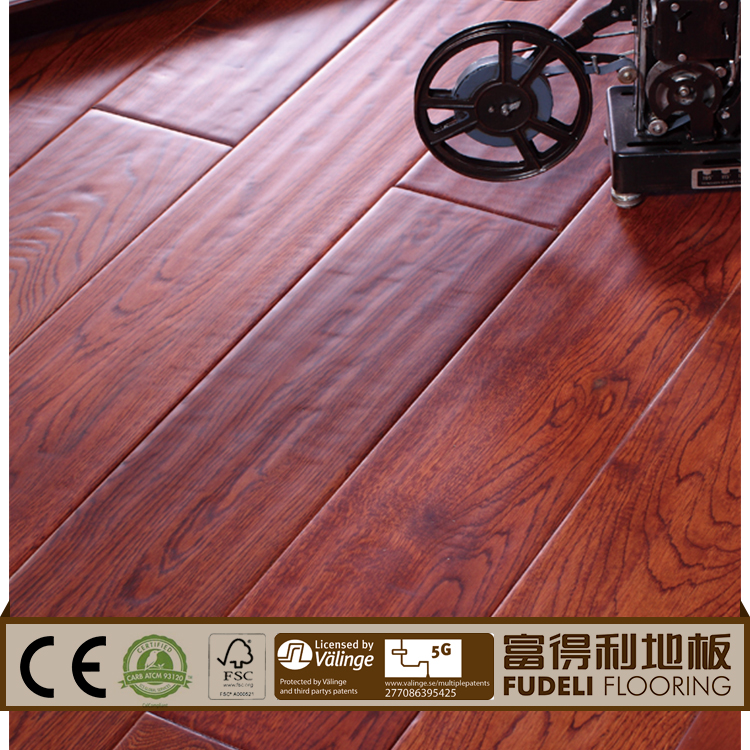 Manufacturer outdoor wooden dance red oak parquet flooring