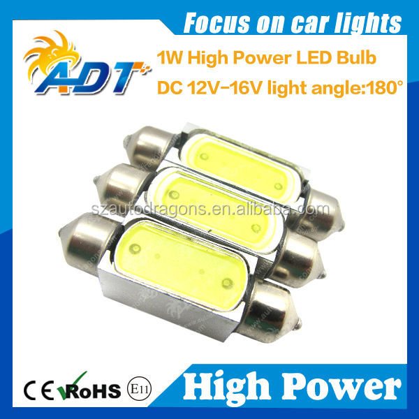 best seller high power 10*42mm car LED instrument bulb,festoon led bulb, led bulb lights