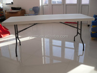 "30"" x 72"" Heavy Duty Ultra Blow Molded Commercial Plastic Folding Table, lightweight plastic folding table"