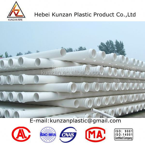 2 inch high pressure pvc pipes for water