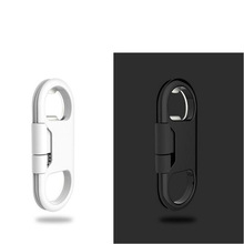 Bottle Opener Keychain Data Cable Portable 3in1 USB Charging Cord for Smart Phone