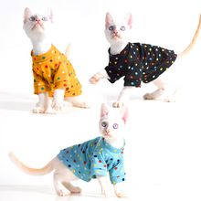Wholesale costumes pet cat apparel small dog clothes spot kitten winter outfits cat hoodie for sale