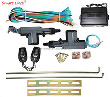 Car Central Door Lock Key or Button Operated System