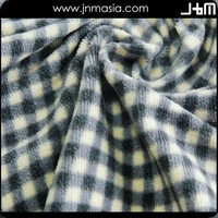 Custom high quality cheap tartan fabric