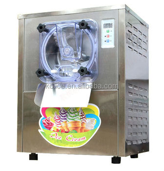 tiny table top commercial hard ice cream machine