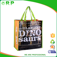 Recycled multifunctional customized glossy laminate shopping bag