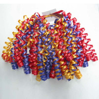 metallic curling ribbon is the best quality ribbon, for wrap gift packages, tie around baskets, use for balloons