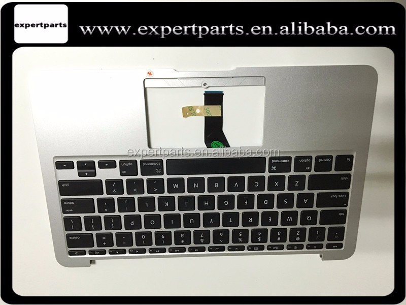 "661-6059 069-6952-A For Macbook Air MacBook Air 13"" A1369 Mid 2011 MC965 MC966 US keyboard with top case Backlit Grade A"