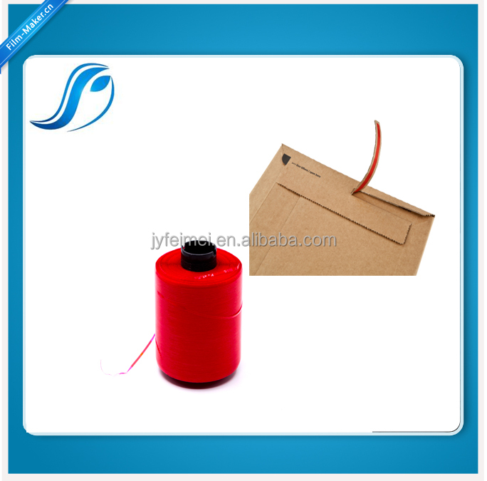 Self Adhesive Tear Tape For Express Envelope With Red Color