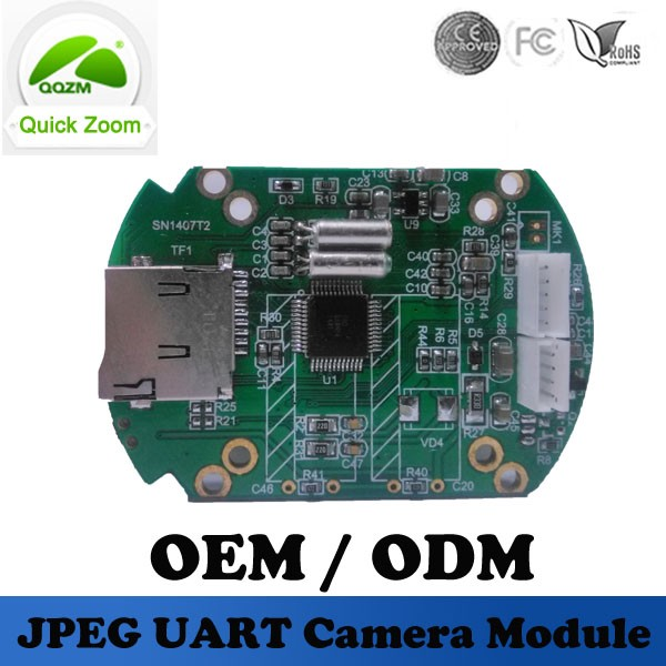 ZM-CAM30-PCB-TF Infrared CMOS OV7725 Motion Tracking Security Cameras