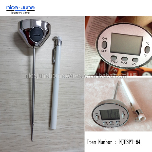 The Professional Metal digital cooking sugar candy thermometer
