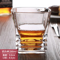 Pacific Whiskey Glasses, Unique Scotch Lead Free Liquor Tumblers