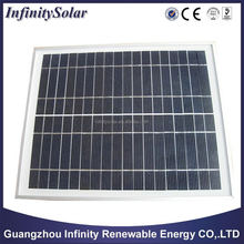 Black Solar Panel with Bypass Diodes to Avoid Hot spot Effect, EVA Laminated and Waterproof TPT